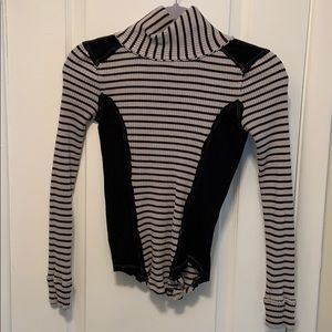 Free people striped turtleneck